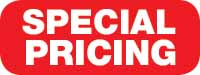 Special Pricing